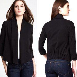 EUC Theory Casual Knit Ashbey B Blazer in Black